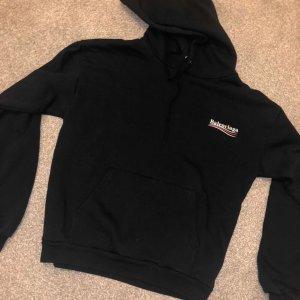 Balenciaga Hooded Sweater black