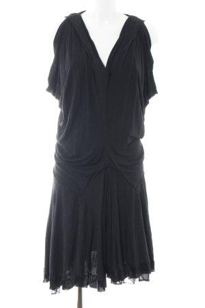 Balenciaga Robe en jersey noir style extravagant