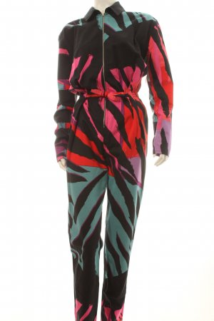 Balenciaga Jumpsuit abstract patroon extravagante stijl