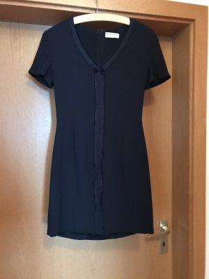 Balenciaga Mini vestido azul oscuro