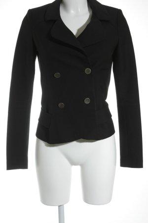 Balenciaga Kurz-Blazer schwarz Business-Look