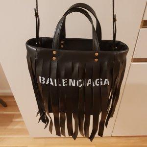 Balenciaga Laundry cabas xs fringes