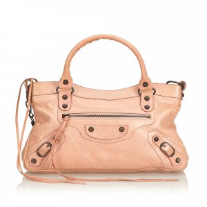 Balenciaga Satchel pink leather