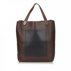 Balenciaga Tote brown leather