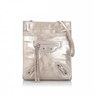 Balenciaga Milky Way Papier Crossbody Bag