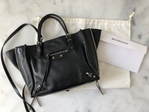 Balenciaga Mini Papier A4 Zip Around Tasche