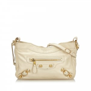 Balenciaga Crossbody bag white leather