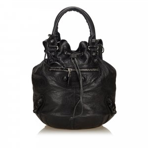 Balenciaga Handbag black leather