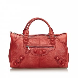 Balenciaga Handbag red leather