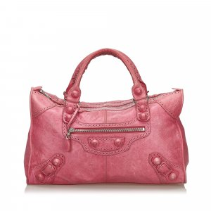 Balenciaga Handbag pink leather