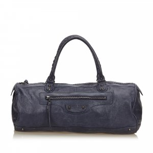 Balenciaga Handbag blue leather