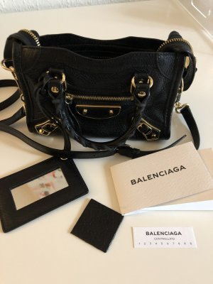Balenciaga Nano Classic City Metal Edge
