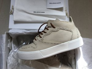 Balenciaga Nubuk Leder Beige Stitching Sneaker Gr. 38,5 NP 529€