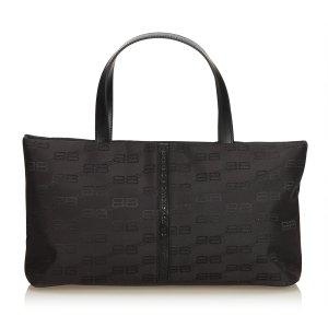 Balenciaga Nylon Tote Bag