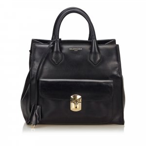 Balenciaga Padlock All Afternoon Bag