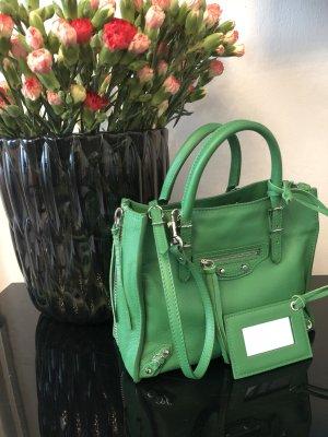 Balenciaga Borsetta verde Pelle