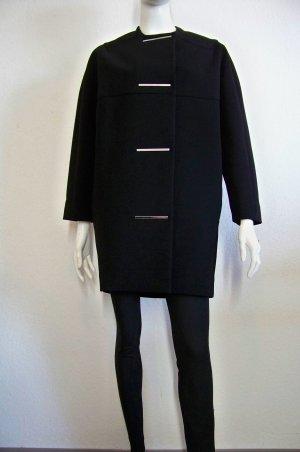 Balenciaga Paris Traum Cocoon Crepe Coat Mantel Oversize 36 38 neu