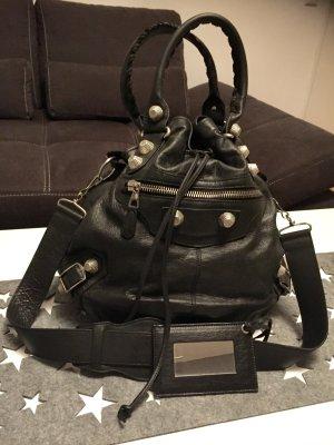 Balenciaga Pompon NP 1300€ schwarz/silber