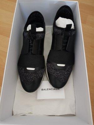 Balenciaga Zapatilla brogue negro