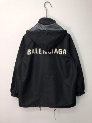 Balenciaga Outdoor Jacket black polyacrylic