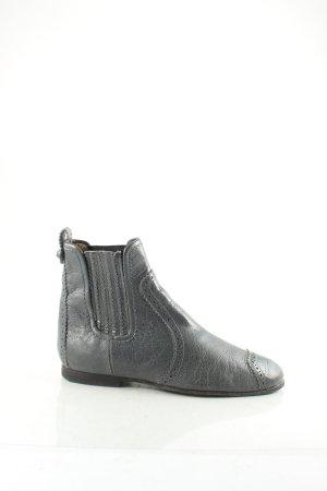 Balenciaga Schlüpf-Stiefeletten graublau Street-Fashion-Look