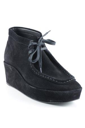 Balenciaga Schnürschuhe schwarz klassischer Stil