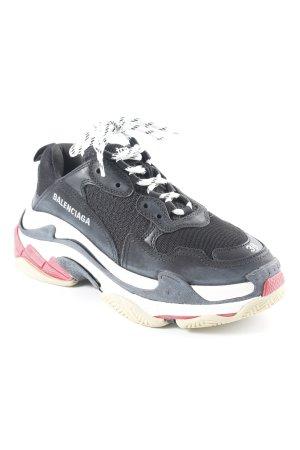 "Balenciaga Lace-Up Sneaker ""Triple S"""