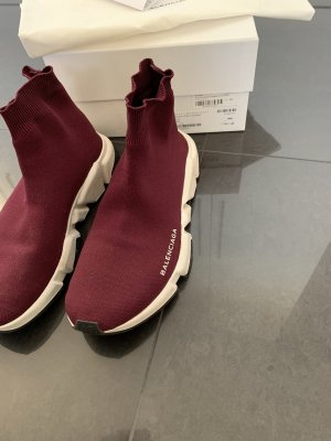 Balenciaga Sneaker slip-on bordeaux