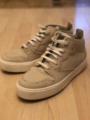 Balenciaga Lace-Up Sneaker cream