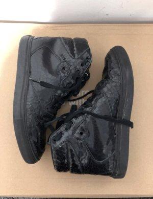 Balenciaga Zapatillas altas negro