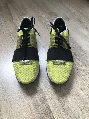 Balenciaga Sneaker in Gelb/Khaki