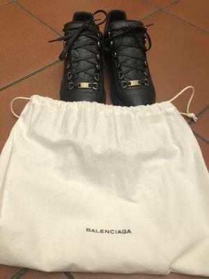 Balenciaga Sneaker stringata nero Pelle