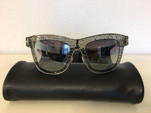 Balenciaga Gafas de sol ovaladas color plata