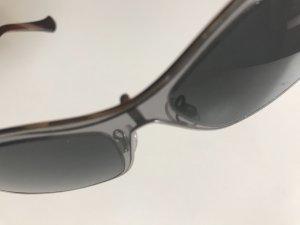 Balenciaga Sonnenbrille Brille Transparent Silber Neu