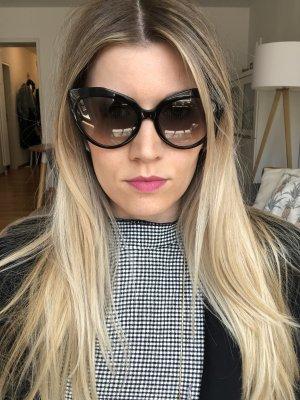 Balenciaga Sonnenbrille Cateye schwarz