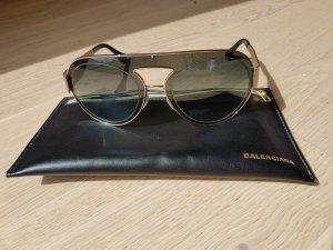 Balenciaga Gafas color oro