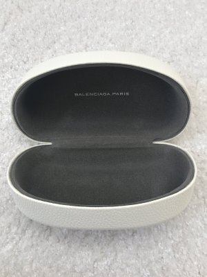 Balenciaga Sunglasses white-dark grey