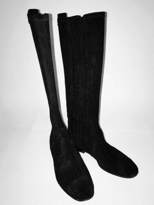 Balenciaga Winter Boots black suede