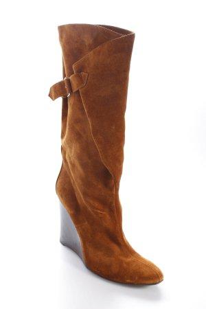 Balenciaga Botas altas marrón Hebillas