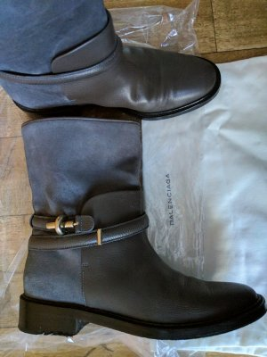 Balenciaga Stiefelette Boots Leder neuwertig