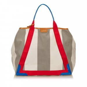 Balenciaga Stripe Canvas Tote bag