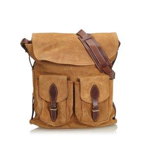 Balenciaga Suede Crossbody Bag