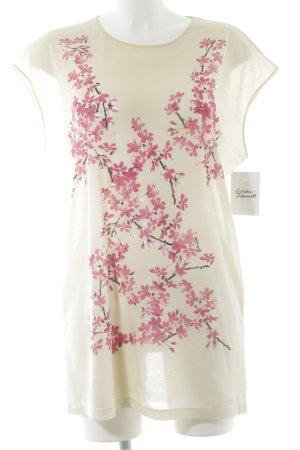 Balenciaga T-Shirt Blumenmuster Casual-Look