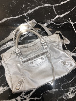 Balenciaga Handbag silver-colored