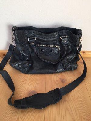 Balenciaga Handtas donkerblauw-petrol