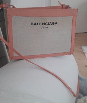 Balenciaga Tasche aus Baumwollcanvas und Kalbsleder