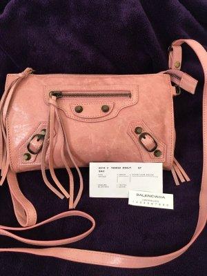 Balenciaga Clutch roze-lichtroze Leer