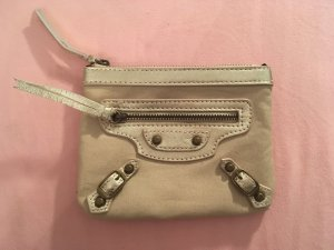 Balenciaga Cartera color oro-crema