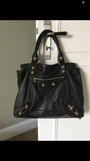 Balenciaga Tasche Original // Leder, schwarz