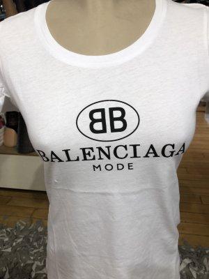 Balenciaga Camiseta blanco